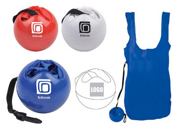 Shopping Bag with Ball Holder