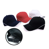 Side Stripe Cotton Polyester Cap