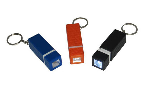 Square LED Torchlight with Key Chain