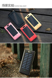Solar Power Bank with Super Bright LED Light