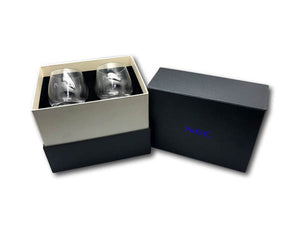 Whisky Glass Gift Set with Ice Ball Maker