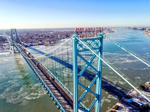 Detroit - Ambassador Bridge M00001