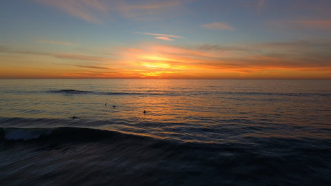 Encinitas - Pacific Ocean Sunset V00001