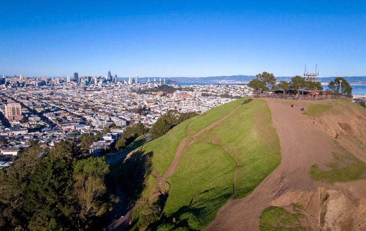 San Francisco - Downtown from Bernal Heights Park M00001