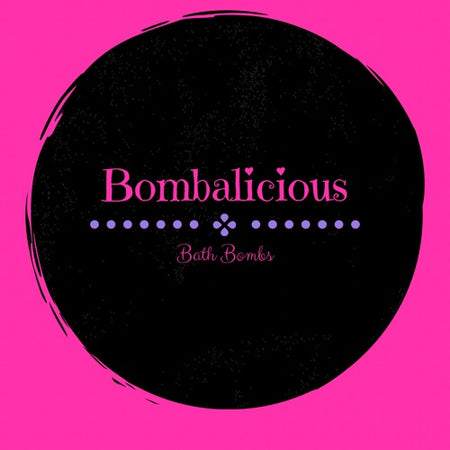 Bombalicious Bath Bombs Business Logo
