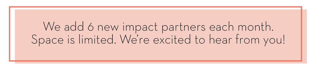Fund the Impact Program 6 New Partners