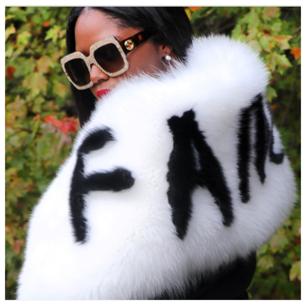 Eartha Nombre Fox Fur Stole