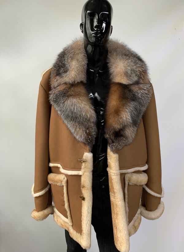 Duane Shearling Coat