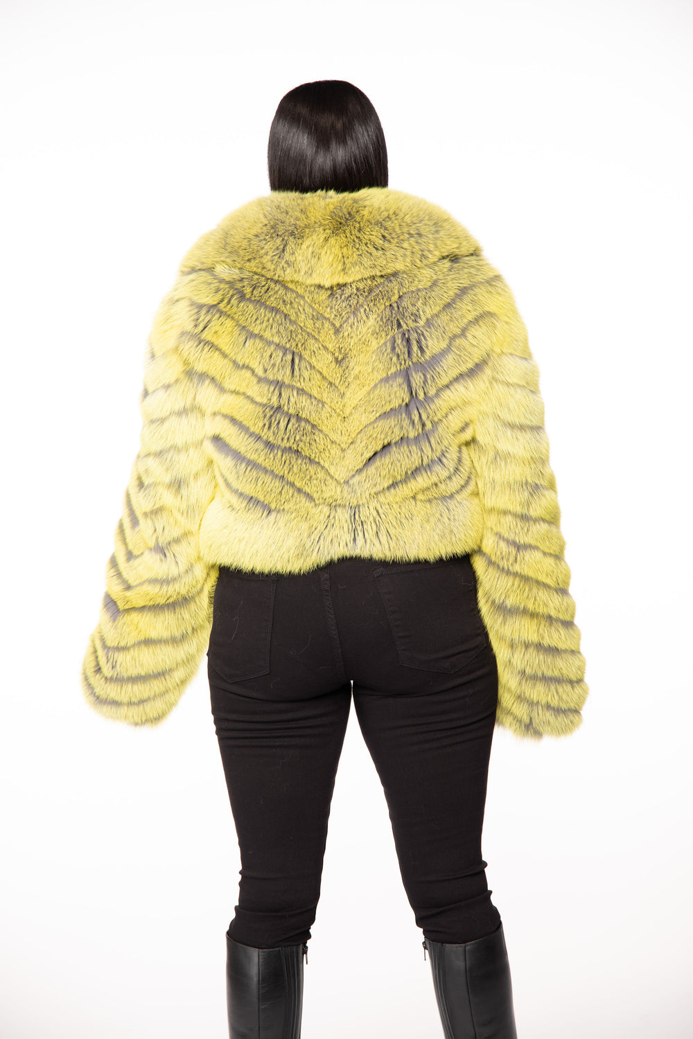 Sandra Fox Fur Jacket