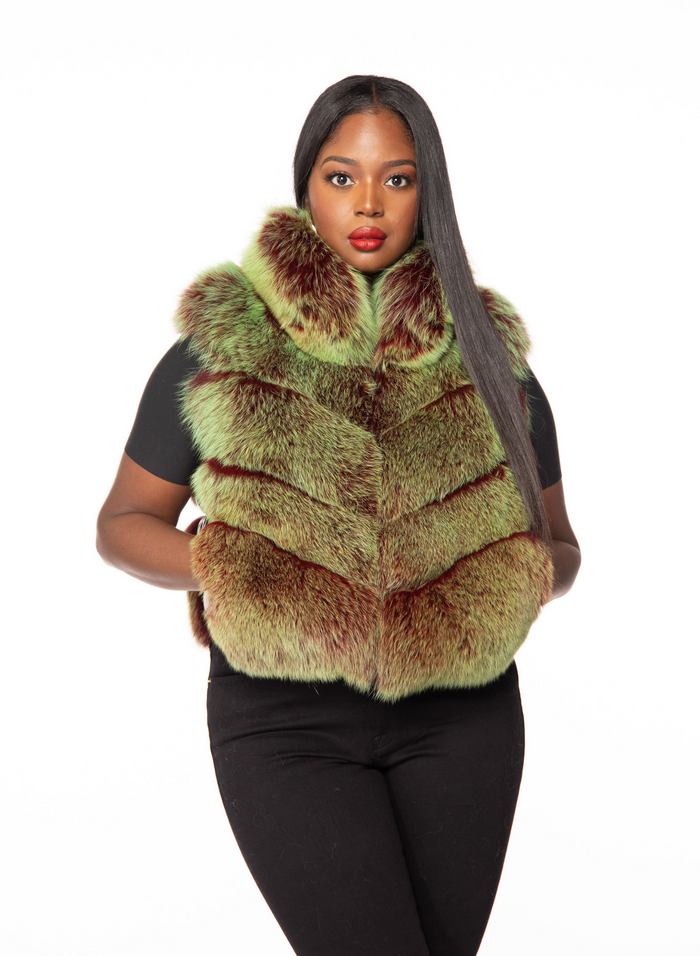 Lillian Fox Fur Vest