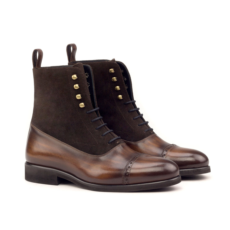 Balmoral Boot - Model #2598 Hand Made Patina