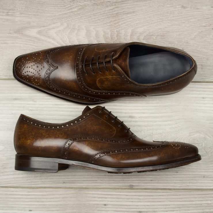 Full Brogue - Model #1942 Hand Made Patina