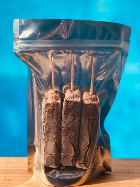 Freeze Dried Ice Cream - Chocolate Fudge Pops