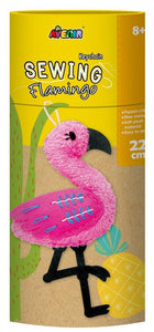 Avenir - Sewing - Key chain - Flamingo