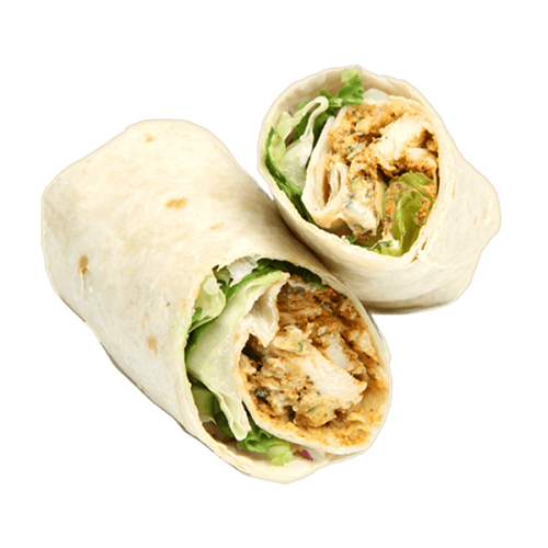 Chicken, Lettuce and Mayo Wrap