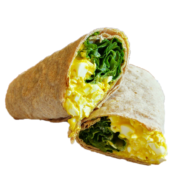 Egg Mayo & Salad Wrap (GF Available)