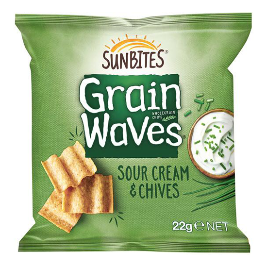 Grainwaves Wholegrain Chips (Sour Cream)