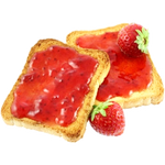 Jam Sandwich - (GF Available)