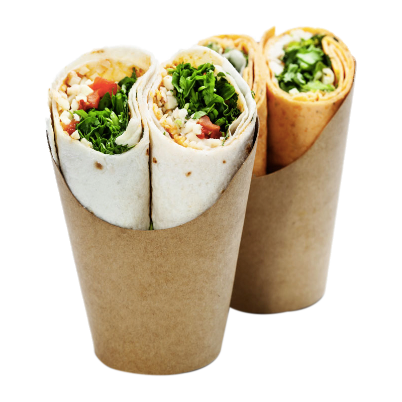 Cheese and Salad Wrap (GF Available)