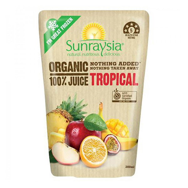 Organic Tropical 100% Juice