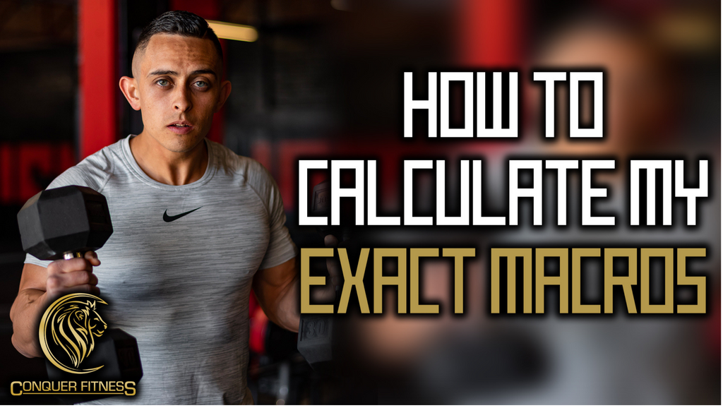 How to Calculate your exact macros for your exact goals?