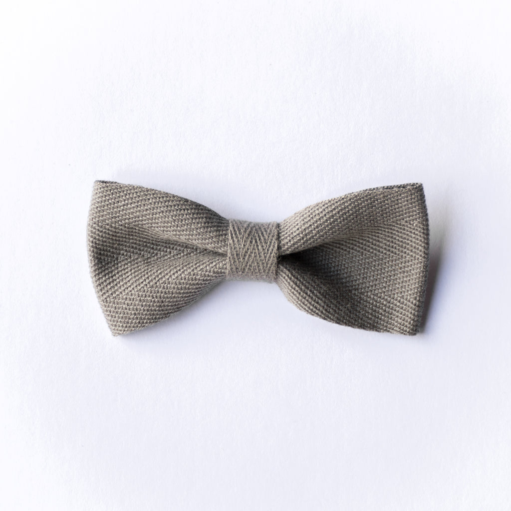 Milla bow - Grey