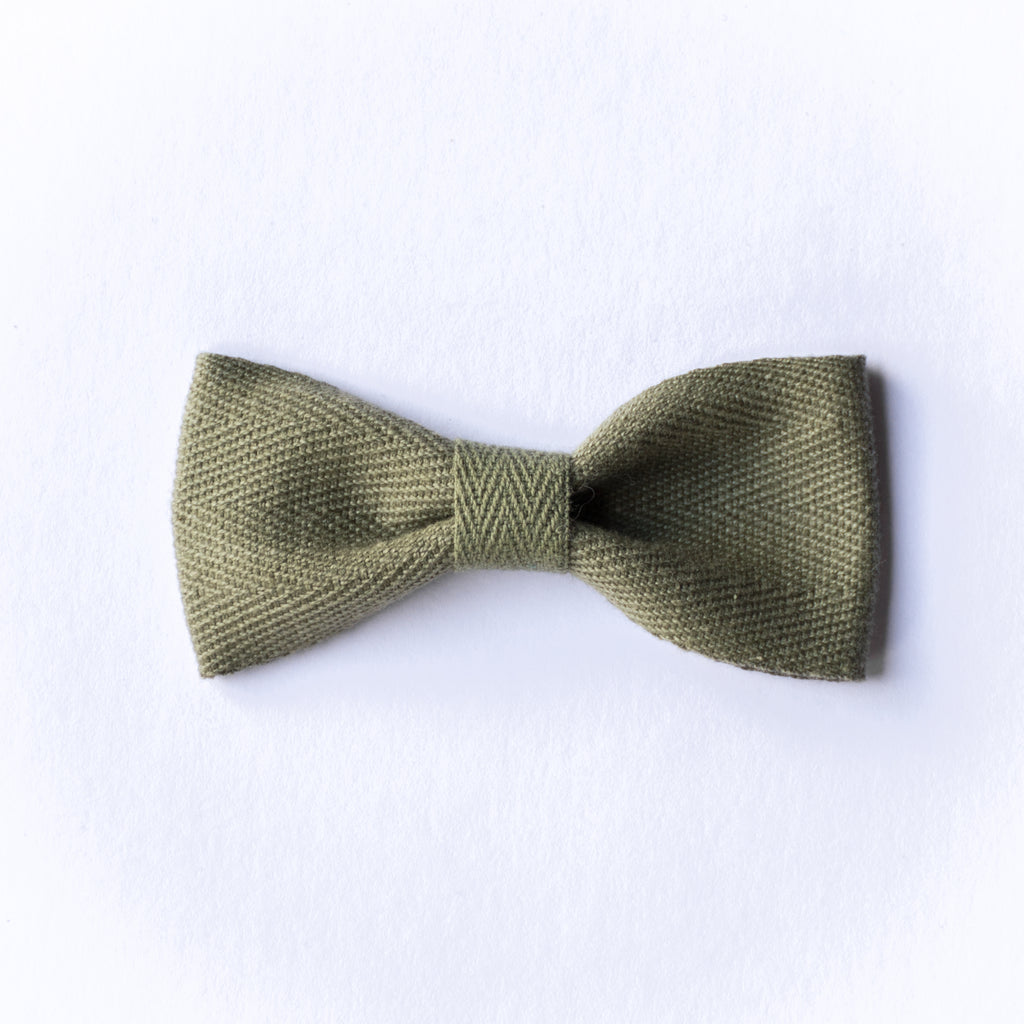 Milla bow - Olive