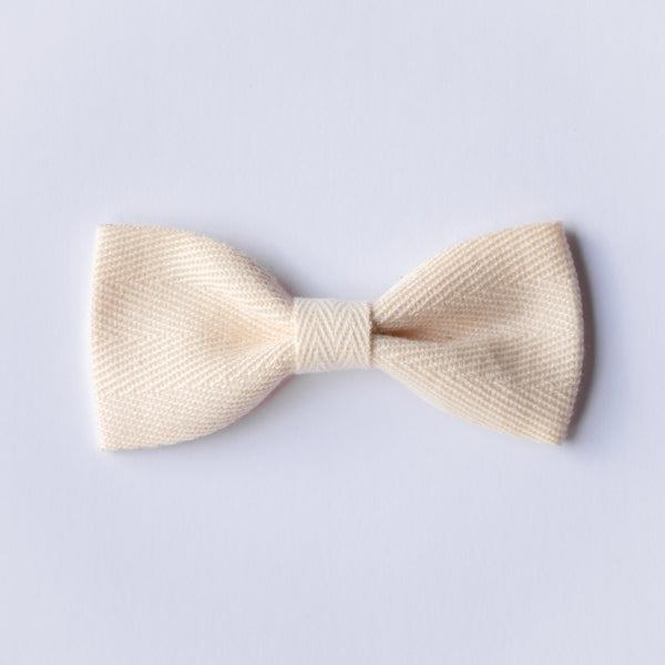 Milla bow - Cream