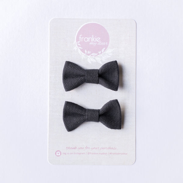 Mini Milla bow set - Navy
