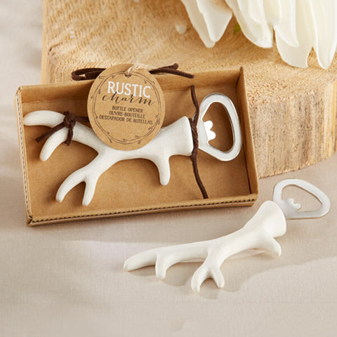 Antler Deer Bottle Opener - Bar Tool - Free Shipping