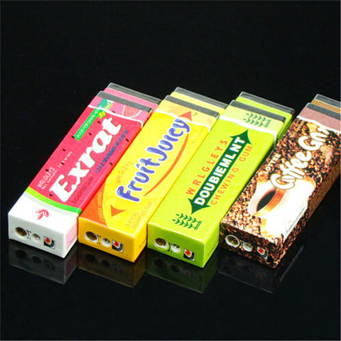 Jet Butane Lighter - Chewing Gum Packs - Windproof - Ships Free