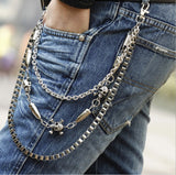 Men's  Multi-layer Waist Belt Chain Jewelry Pants Accessories