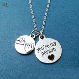You Are My Person - Lovers Necklace,Best Friends Necklace, Family Necklace - Free Shipping