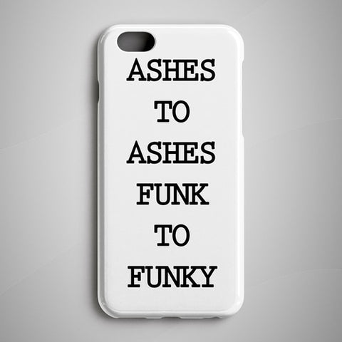 Phone Case - Ashes To Ashes iPhone X Case Samsung Galaxy S8 - Free Shipping