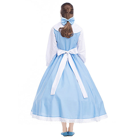 Womens Beauty & The Beast Belle Maid Dress - Free Shipping