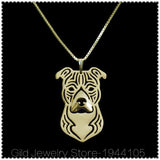 Pit Bull Pendant on Chain - Unisex Gift - Best Friends from Sophie