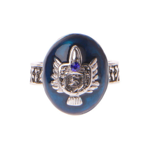 Vintage Ring Stefan Salvatore Protection Sun Family Crest -  Free Shipping