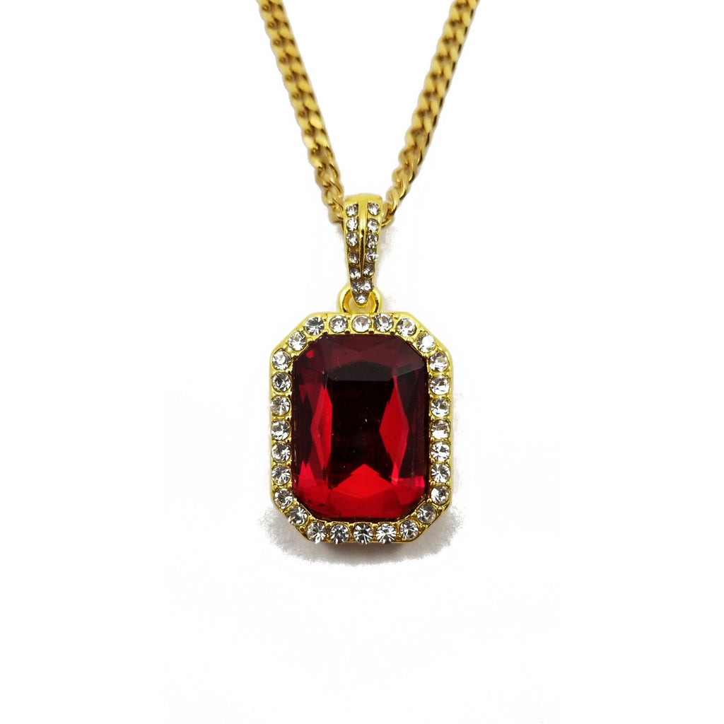 products lab collections created red jewelry necklace jewellery chain pendant original ruby silver