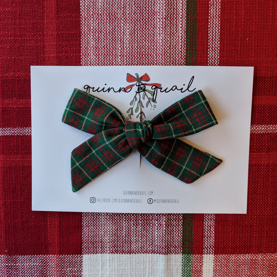 Midi Green with Red Plaid Schoolgirl