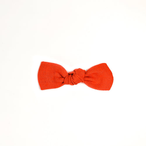 Candy Apple Knot Bow