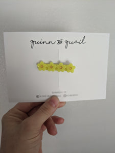 Lemonade Flower Clip