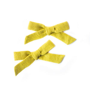 Citron Mini Schoolgirl Pigtail Set