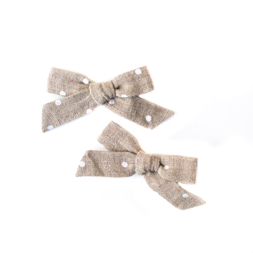 Cookie Dough Mini Schoolgirl Pigtail Set