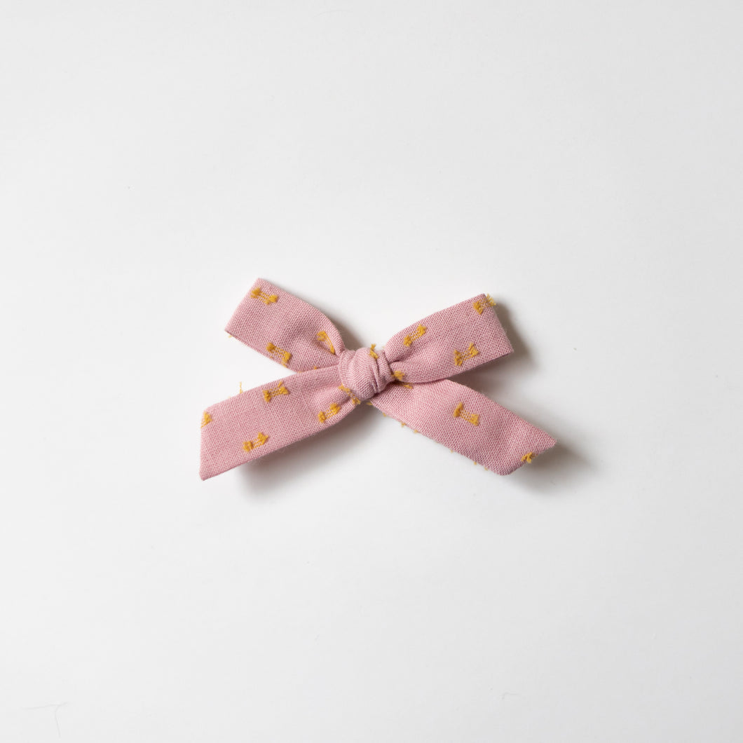 Pink Lemonade Swiss Dot Mini Schoolgirl