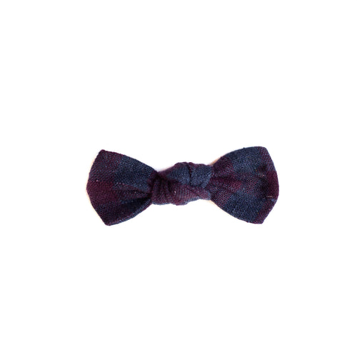 Plum Pie Knot Bow