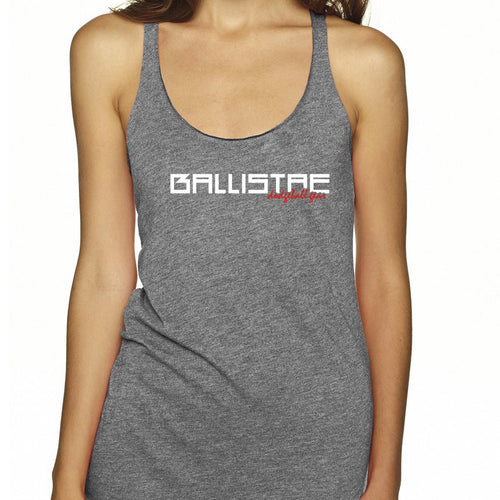Ballistae Anvil Racerback Triblend Ladies' Tank
