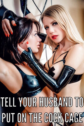 Male Chastity Captions – Lock The Cock UK