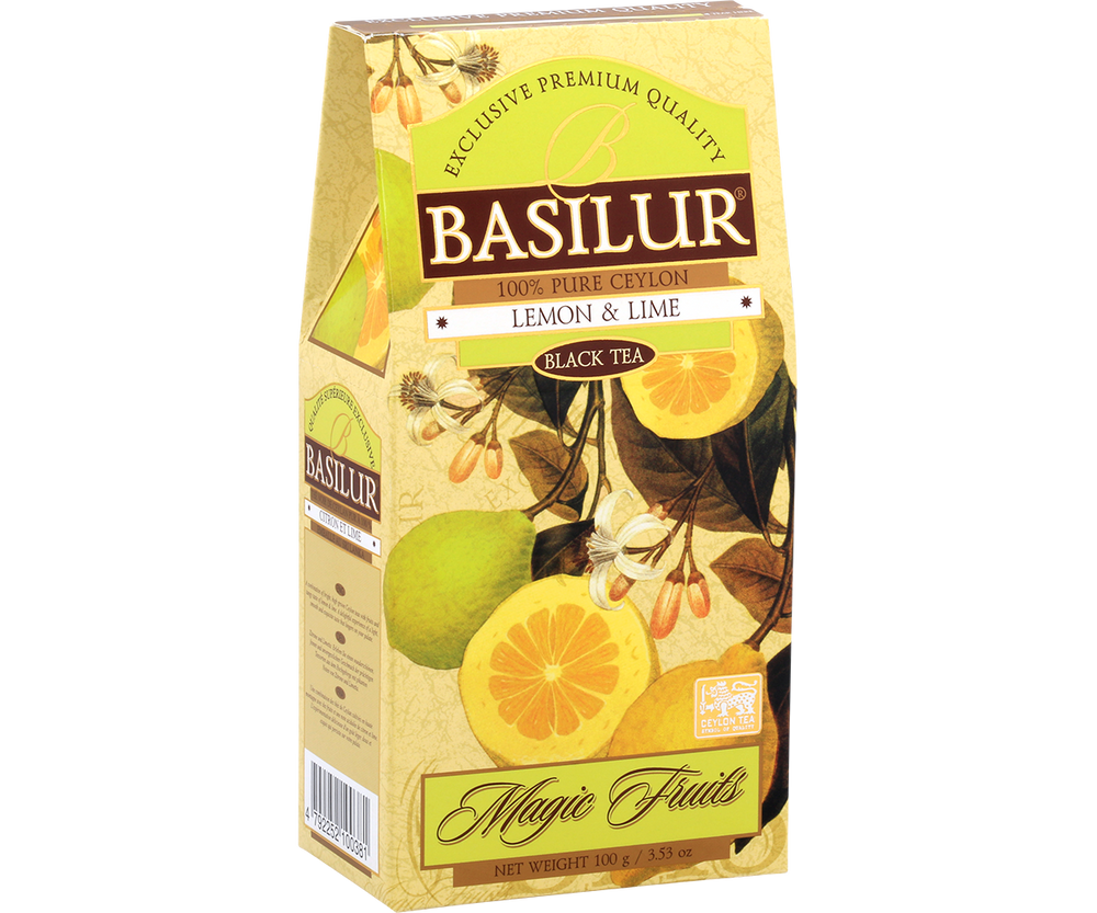 Magic Fruit Collection - Lemon & Lime loose leaf tea