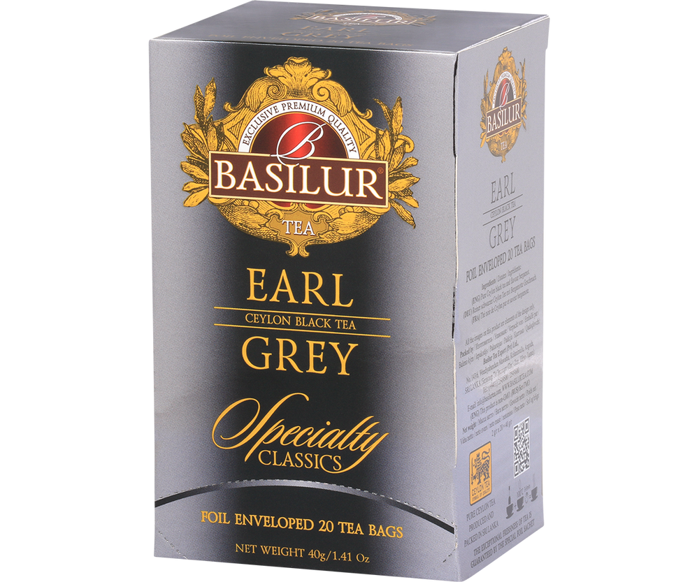 Specialty Classic Collection - Earl Grey foil envelopes