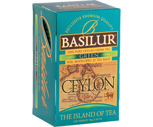 Island Of Tea Carton - Green